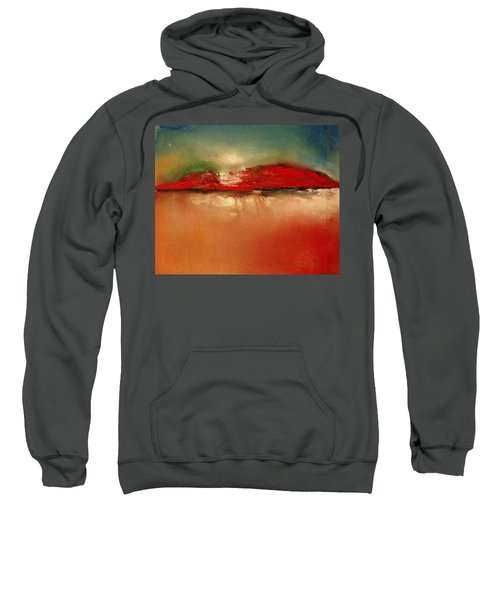 Burgundy Mountain Sweatshirt