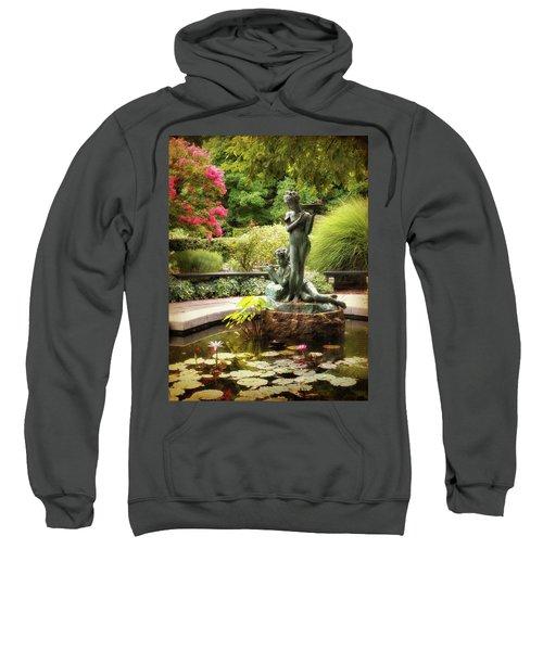 Burnett Fountain Garden Sweatshirt