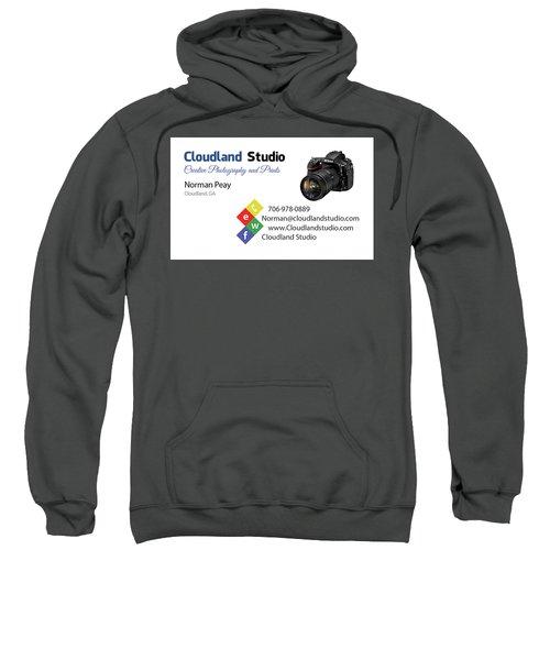 Business Card Sweatshirt