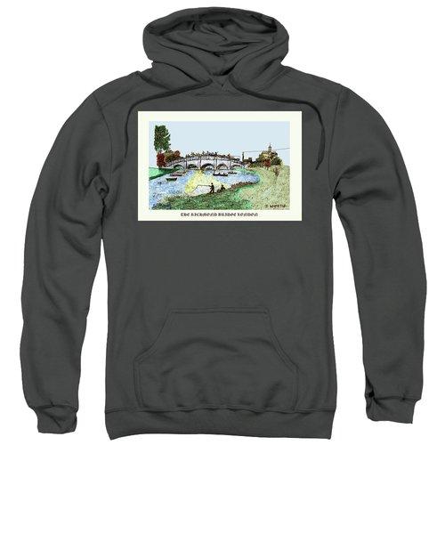 Busy Richmond Bridge Sweatshirt