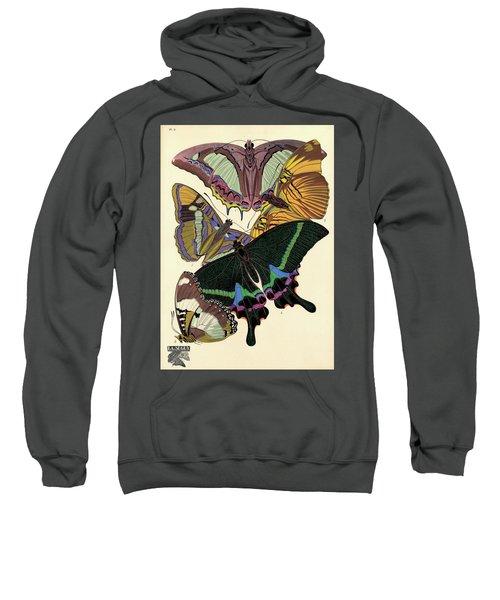 Butterflies, Plate-8  Sweatshirt
