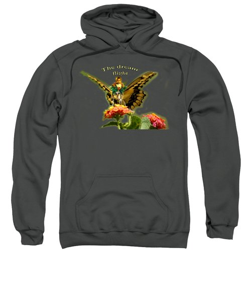 Butterfly And Little Girl Sweatshirt