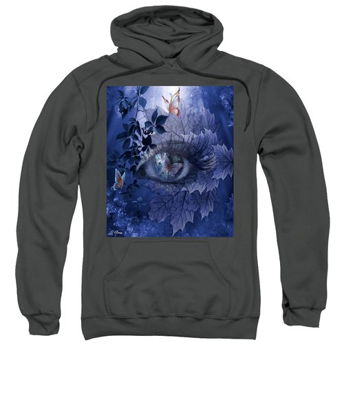 Butterfly Eye Sweatshirt