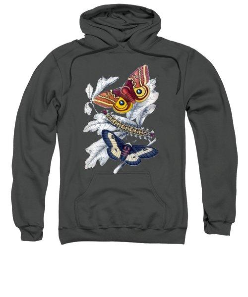 Butterfly Moth T Shirt Design Sweatshirt