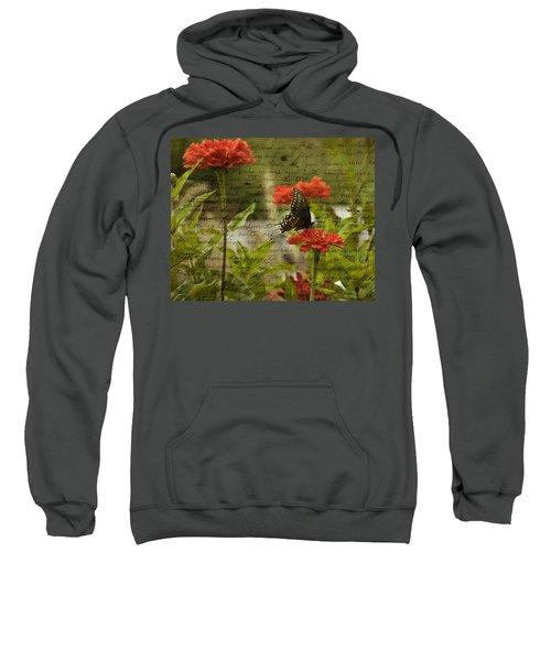 Butterfly Notes Sweatshirt