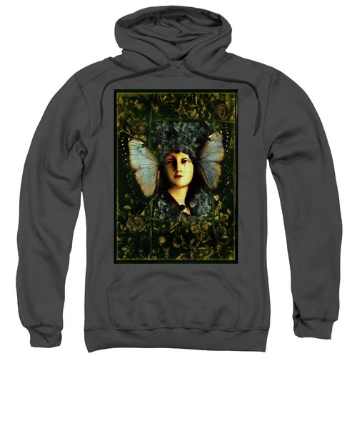 Butterfly Woman Sweatshirt