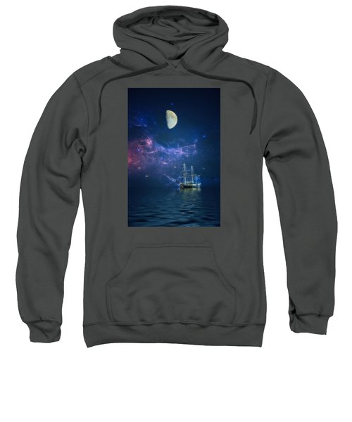 By Way Of The Moon And Stars Sweatshirt