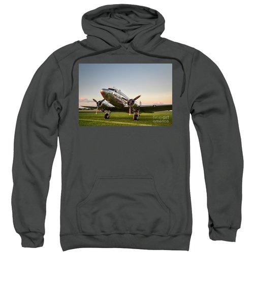 C-47 At Dusk Sweatshirt