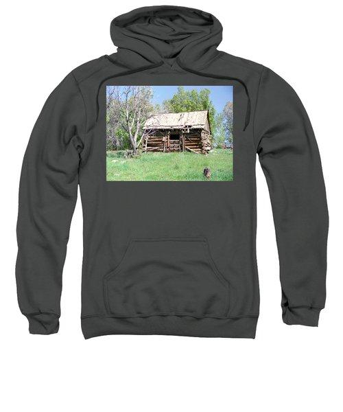 Cabin In The Mountains Sweatshirt