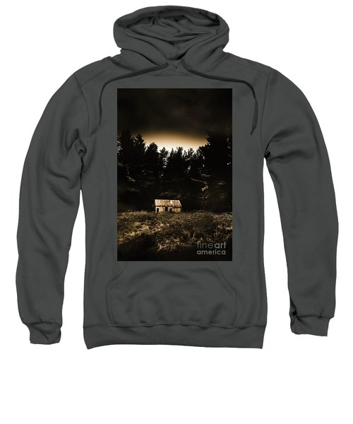 Cabin In The Woodlands  Sweatshirt