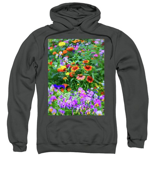 Summer Symphony Of Color Sweatshirt