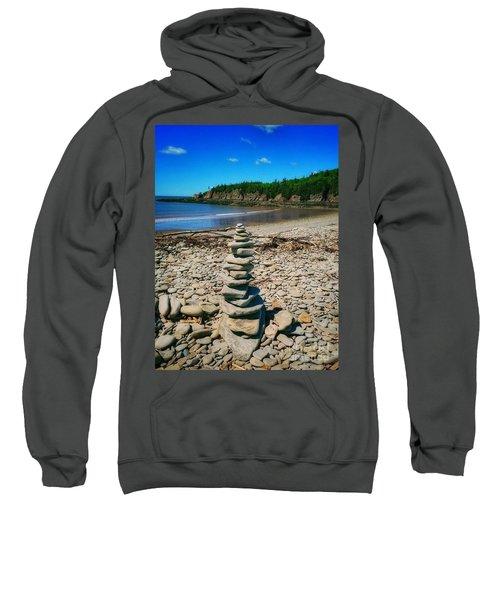 Cairn In Eastern Canada Sweatshirt