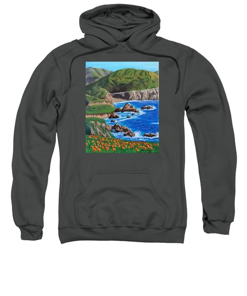 California Coastline Sweatshirt