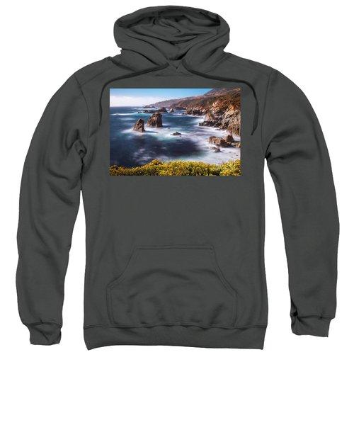 California Coastline  Sweatshirt