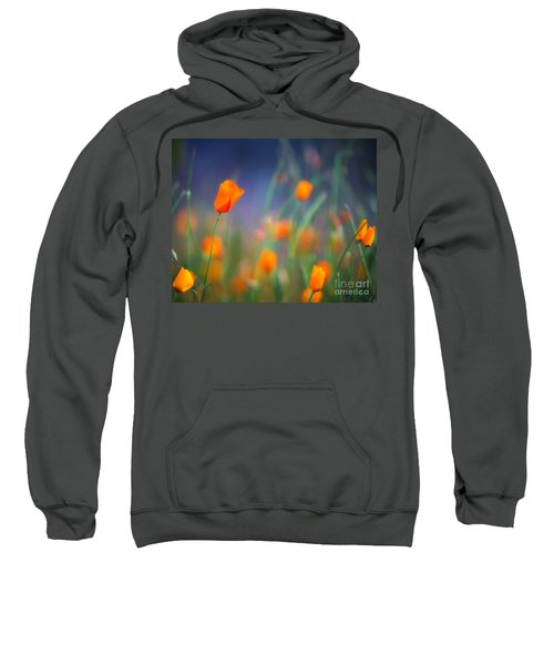 California Poppies 2 Sweatshirt