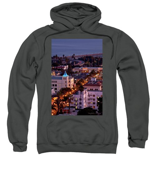 California Street At Ventura California Sweatshirt