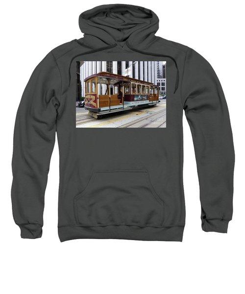 California Street Cable Car Sweatshirt