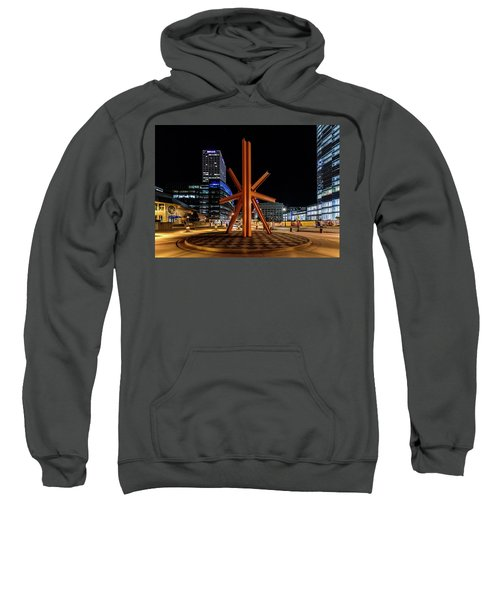 Calling After Sundown Sweatshirt by Randy Scherkenbach