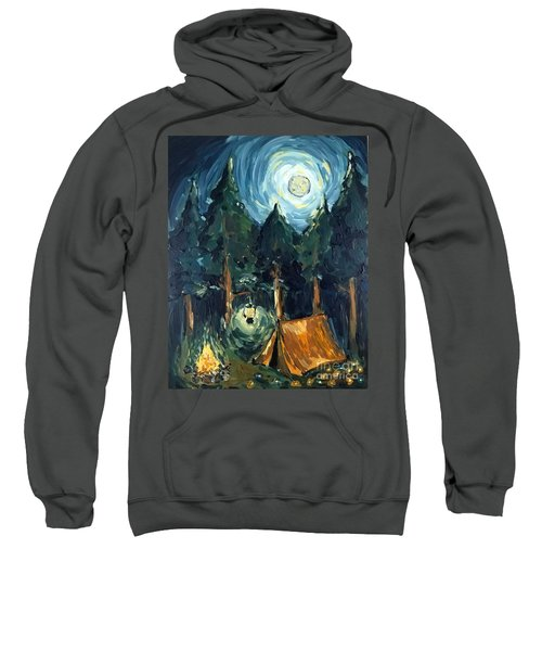 Camp At Night Sweatshirt