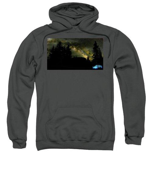 Camping Under The Milky Way 2 Sweatshirt