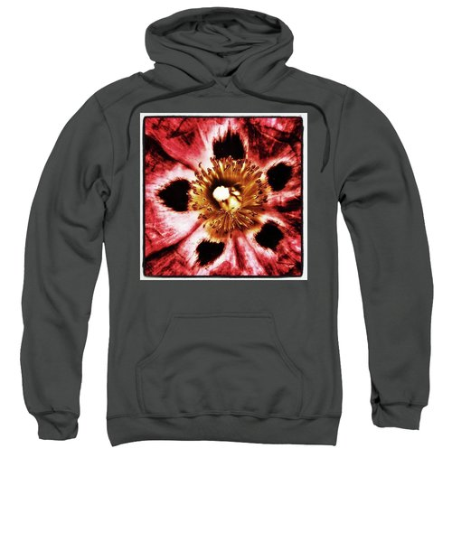 Sweatshirt featuring the photograph Can You Guess What Flower? Hints: It's by Mr Photojimsf