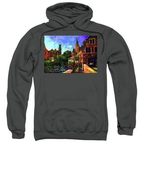 Canal In Bruges Sweatshirt