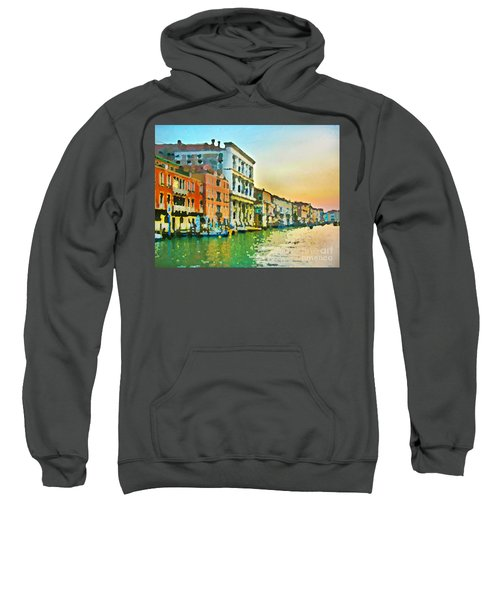 Canal Sunset - Venice Sweatshirt