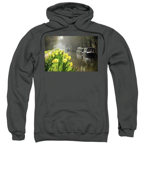Canalside Daffodils Sweatshirt