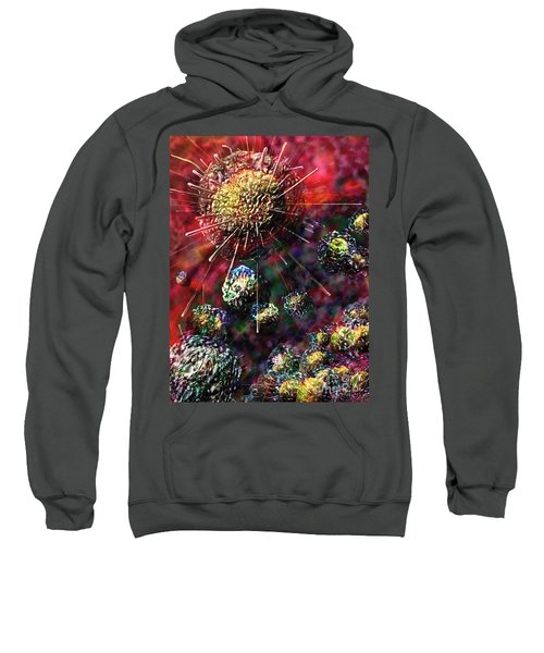 Cancer Cells Sweatshirt