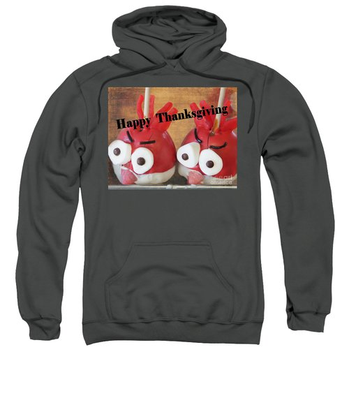 Candied Turkey Apples Sweatshirt
