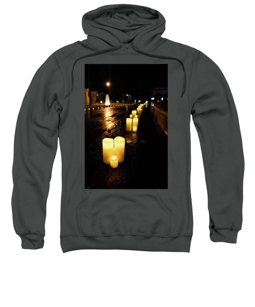 Candles On The Beach Sweatshirt