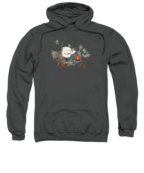 Cannibalism Is Sweet Illustrated Sweatshirt