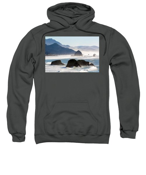 Cannon Beach On The Oregon Coast Sweatshirt