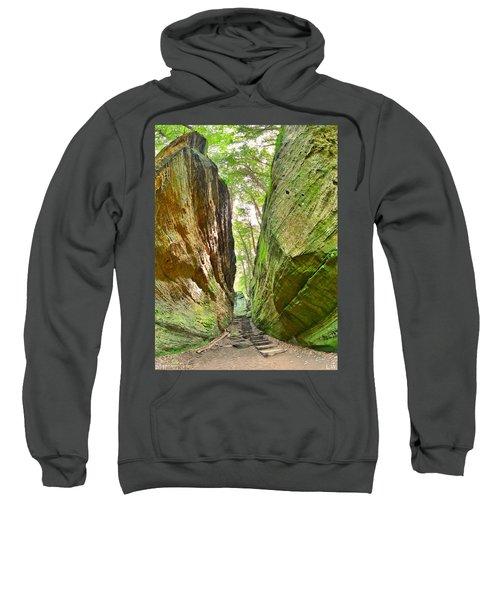 Cantwell Cliffs Trail Hocking Hills Ohio Sweatshirt