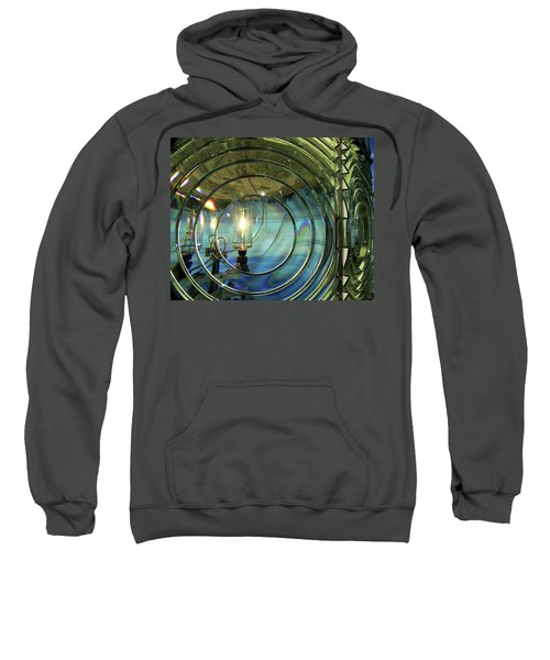 Cape Blanco Lighthouse Lens Sweatshirt