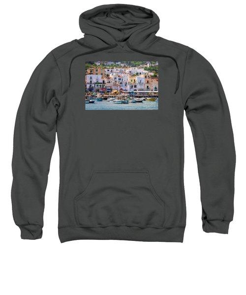 Capri Boat Harbor Sweatshirt