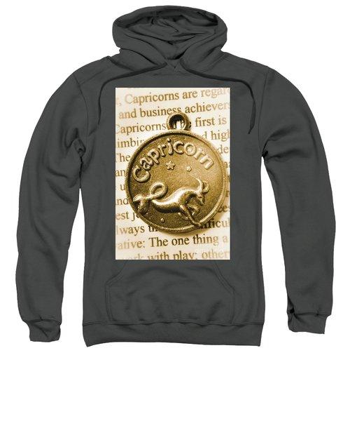 Capricorn Zodiac Lucky Charm Sweatshirt