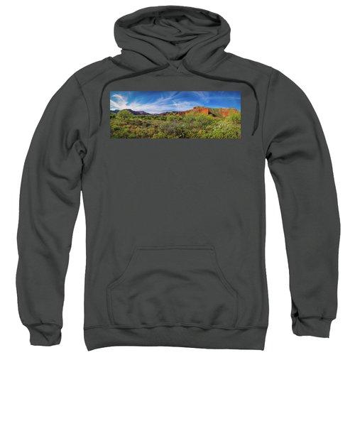 Caprock Canyon Panorama 2 Sweatshirt