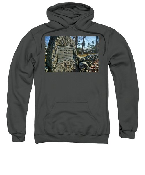 Captain John Locke Monument  Sweatshirt