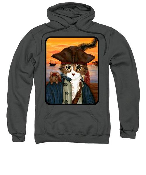 Captain Leo - Pirate Cat And Rat Sweatshirt