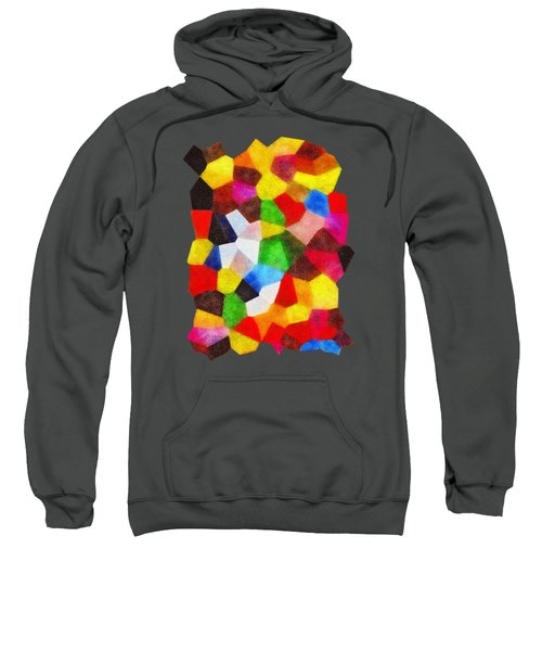 Carnival Abstract Sweatshirt