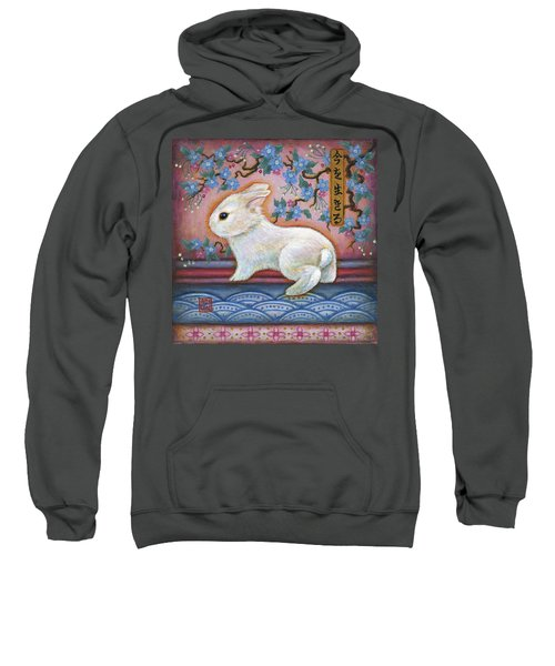 Carpe Diem Rabbit Sweatshirt