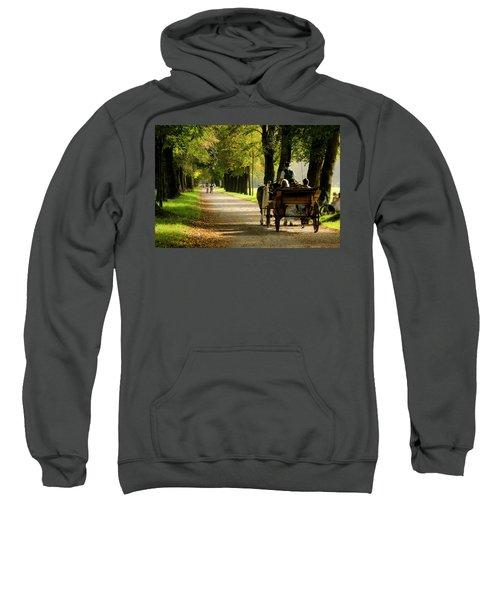 Carriage Ride In Hellbrunn Sweatshirt