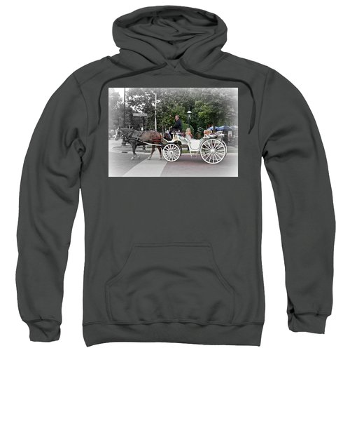 Carriage Ride Into Yesteryear Sweatshirt