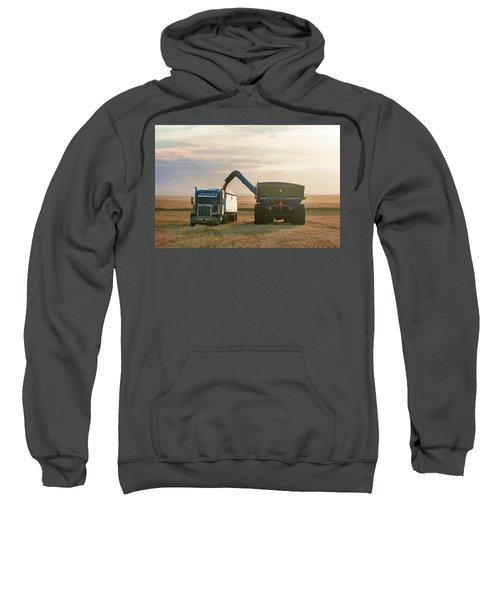 Cart Into Truck Sweatshirt