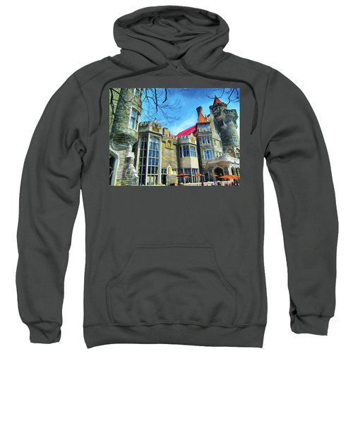 Casa Loma Castle In Toronto 2by1 Sweatshirt