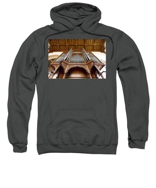 Castle Ashby Pipe Organ Sweatshirt