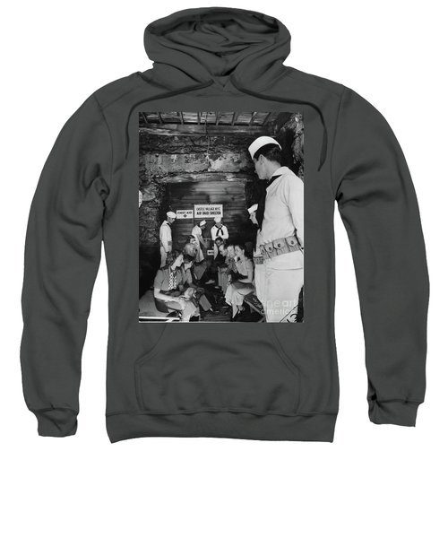 Castle Village Air Raid Shelter Sweatshirt