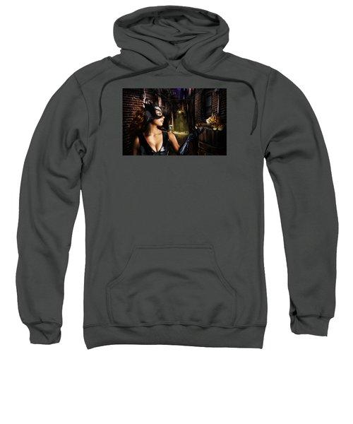 Cat Woman Sweatshirt