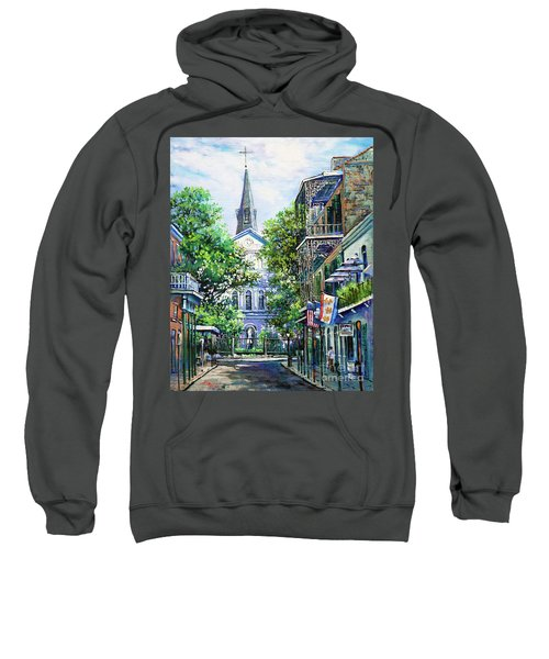 Cathedral At Orleans Sweatshirt